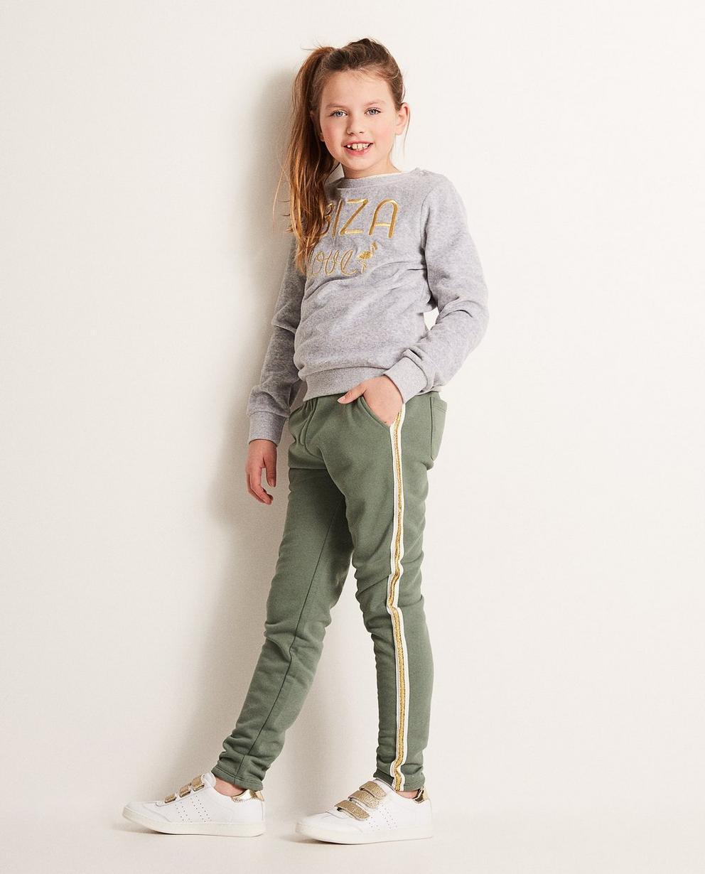 Pantalon molletonné - bande et tailel élastique - JBC